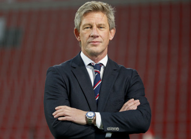 Everton's new director of football Marcel Brands.