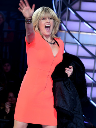 Rachel Johnson while appearing on Celebrity Big Brother earlier this year.