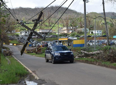 Puerto Rico's mountainous region was hit hard by Hurricane Maria.
