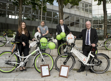 Urbo and Bleeberbike were launched today in Dublin.