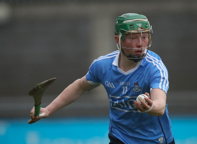 Senior star Whitely has been a key man in Pat Gilroy's senior side this year, starting in attack in both Leinster SHC games.