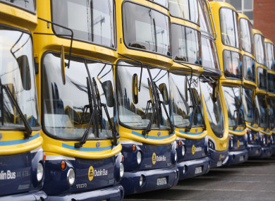 A standardised colour for Transport for Ireland services will be introduced.