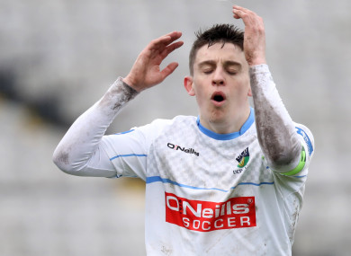 UCD's Gary O'Neill was on target tonight (file pic).