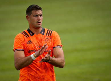 Grobler played 11 times for Munster this season.