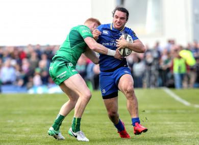 James Lowe returns to the Leinster starting line-up.