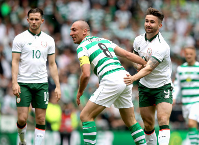 Left to right: Alan Browne, Scott Brown and Sean Maguire.