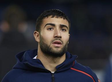 Nabil Fekir of Olympique Lyonnais (file pic).