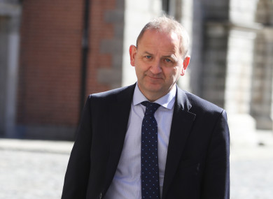 Maurice McCabe arriving at the Disclosures Tribunal