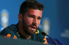 Brazil 'keeper Alisson focused on World Cup amid transfer links with Liverpool