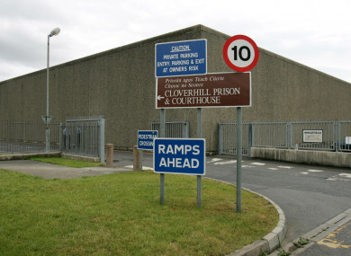 A file photo of the sign for Cloverhill Court.