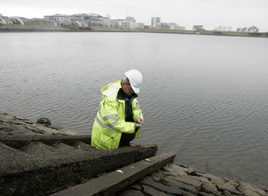 File photo. Irish Water said time must be given to allow water levels to recover