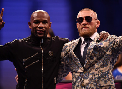Mayweather and McGregor cashed in after their fight last August.
