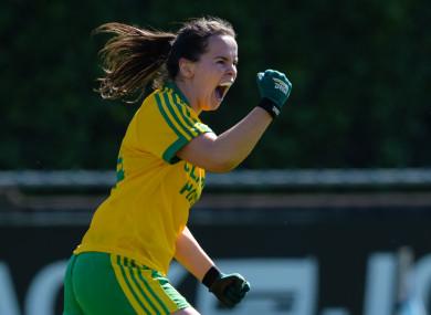 Geraldine Mclaughlin scored 3-3 on Sunday.