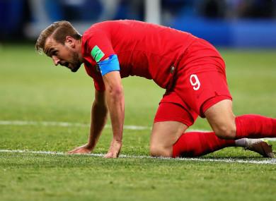 England captain Harry Kane.