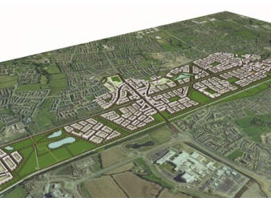 A proposed image of how Clonburris would look.