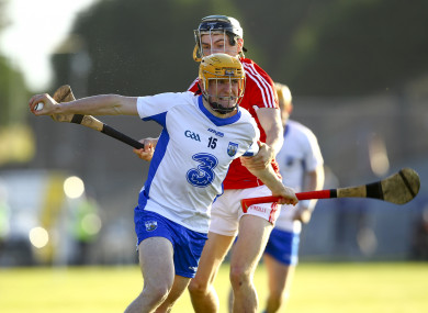 Waterford's Peter Hogan and Cork's Mark Coleman will be in opposition tomorrow night.