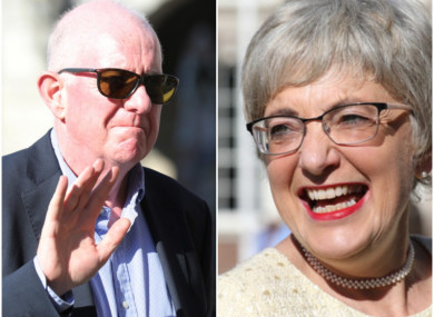 Charlie Flanagan and Katherine Zappone are going back to school.