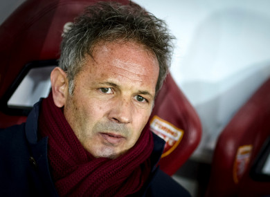 Sinisa Mihajlovic was discarded by the club's new president.