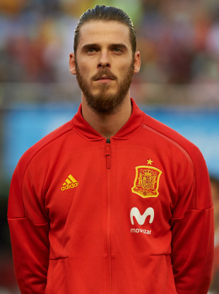 David De Gea is set to represent Spain at the 2018 World Cup.