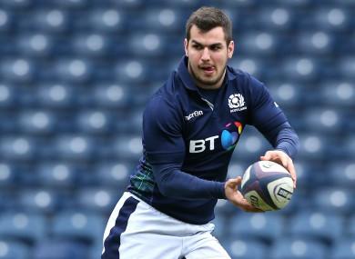 Scotland captain Stuart McInally