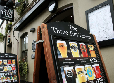 The Three Tun Tavern, a Wetherspoon pub in Dublin's Blackrock.