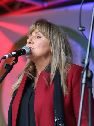 Singer and politician Frances Black says no party - including Sinn Féin - has approached her about running for president.