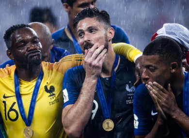 Giroud failed to hit the target in Russia.