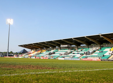 Tallaght Stadium (file pic).
