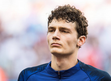 Benjamin Pavard has impressed for France at the World Cup.