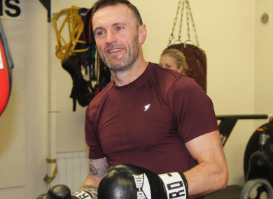 Pictured is Bobby Messett, innocent victim of the Bray Boxing Club shooting.