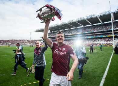 Joe Canning and Galway are bidding to win back-to-back All-Irelands.