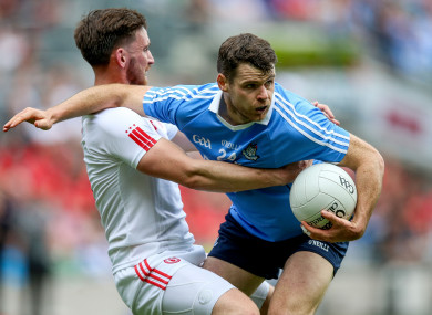 Tyrone and Dublin will clash in Omagh.