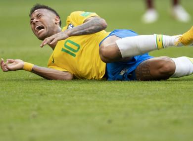 Brazil star Neymar.