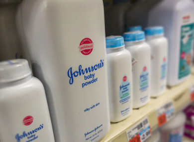Some of Johnson & Johnson's products..