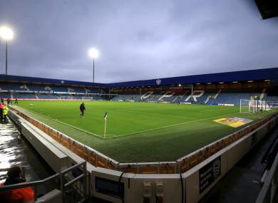 QPR's home ground, Loftus Road.