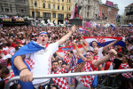 Enormous crowd greets beaten Croatia team after epic World Cup