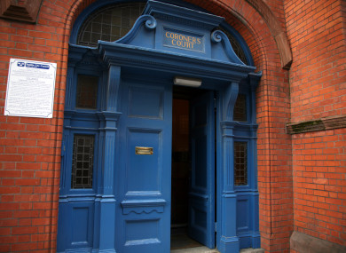 The outside of the Coroner's Court in Dublin