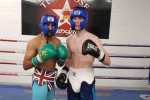 'Some experience to get at 19!': McKenna sparred Amir Khan less than a week after his 5th pro win