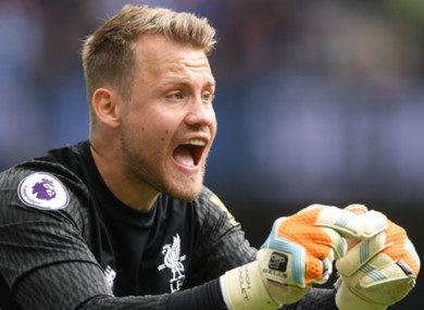 Klopp admits Mignolet isn't happy being No 2 at Anfield.