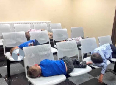 The children who slept in Tallaght Garda Station on Wednesday night