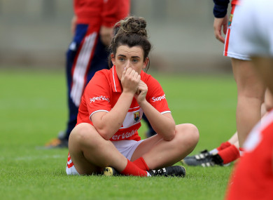 Cork: devastated after defeat against Mayo in the 2017 semis.