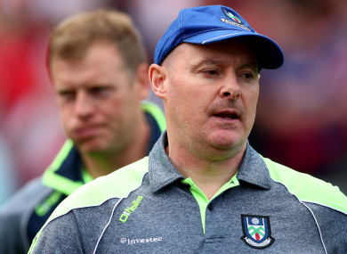 Monaghan boss Malachy O'Rourke.