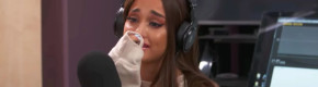 Ariana Grande broke down in an emotional new interview about the Manchester attack