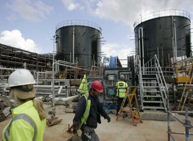 Shell Corrib Gasline Refineries, file photo.