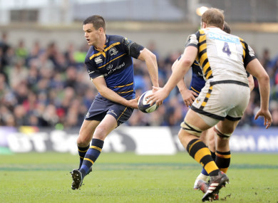 Leinster defeated Wasps in the 2017 quarter-final at the Aviva Stadium.