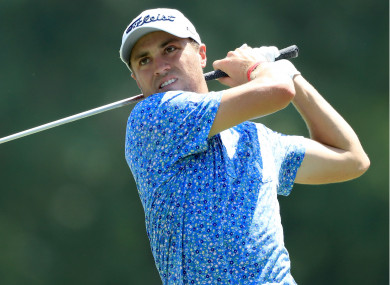Golfer Justin Thomas.