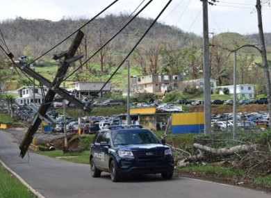 Puerto Rico's mountainous central region was hard hit by Hurricane Maria.