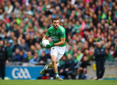 McCluskey during Fermanagh's 2015 All-Ireland quarter-final with Dublin.