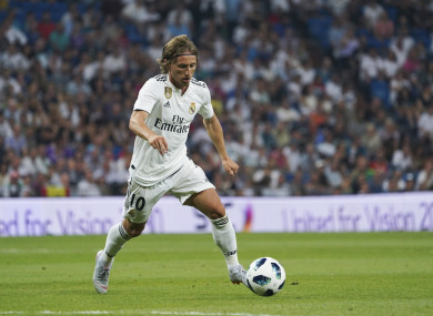 Modric is regarded as one of the top midfielders in the world.
