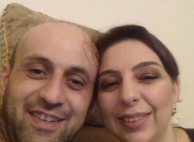 Ilabek Avetian and Anzhela Kotsinian
